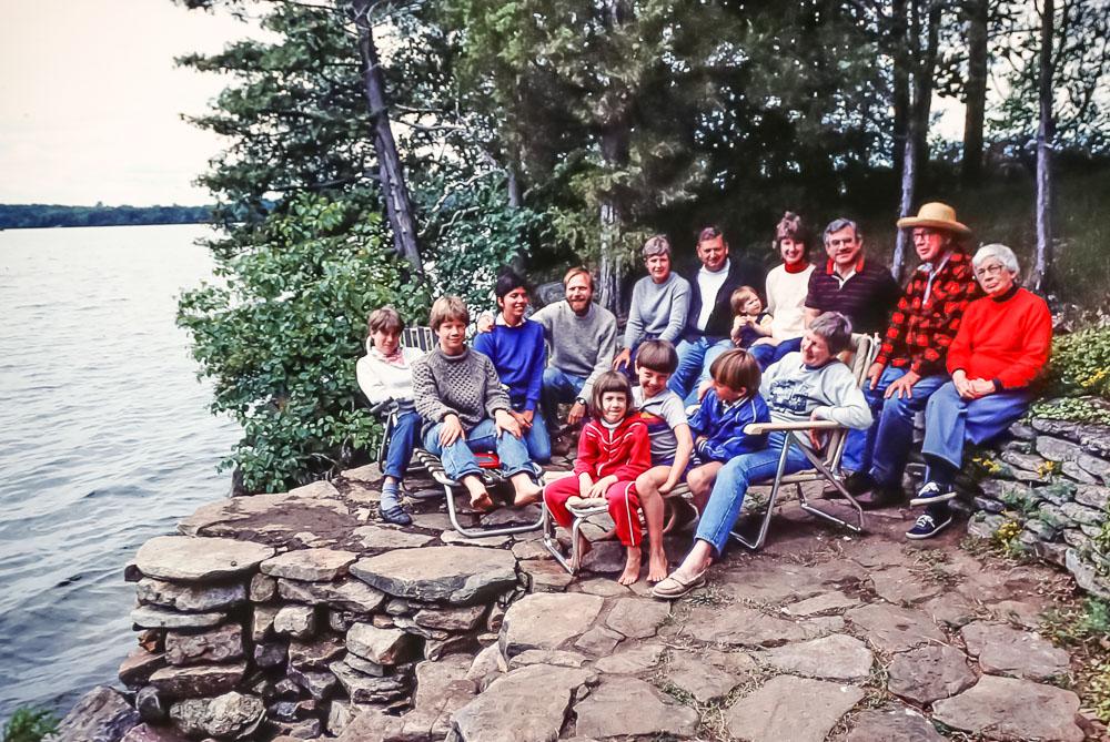 Elmore family - July 1984