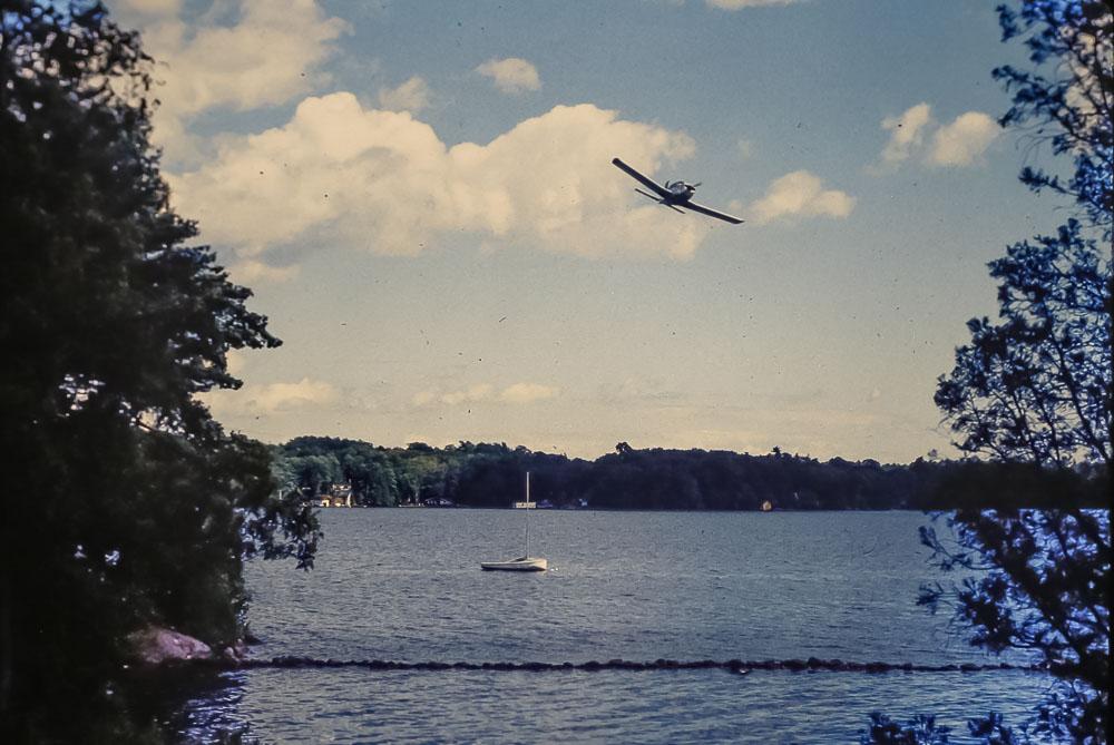 John's plane - July 1984