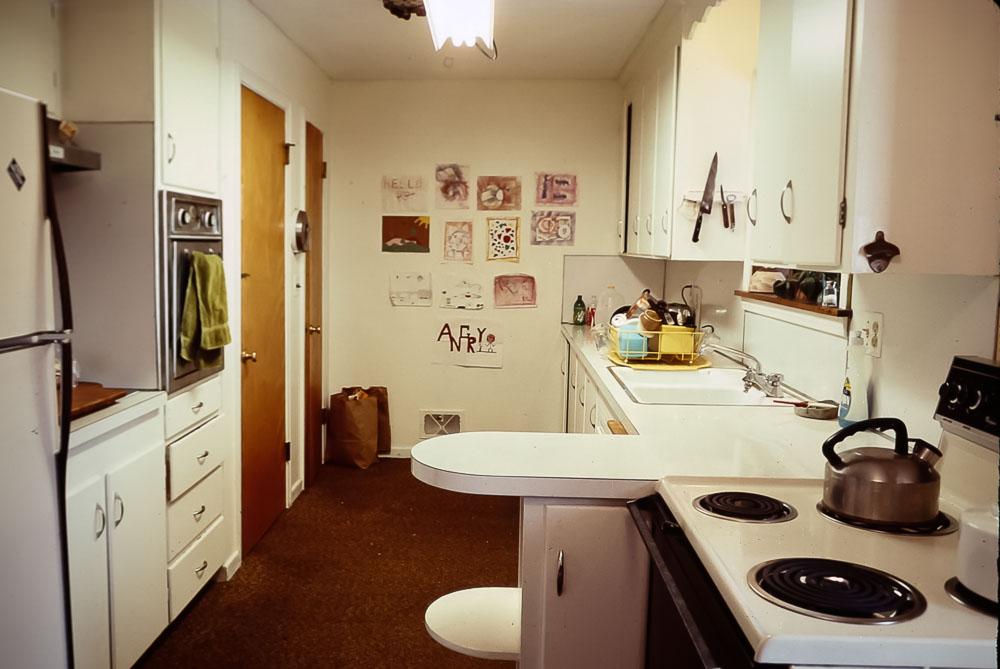 Danforth Kitchen before renovation - August 1984
