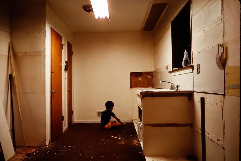 1984 Kitchen tear down