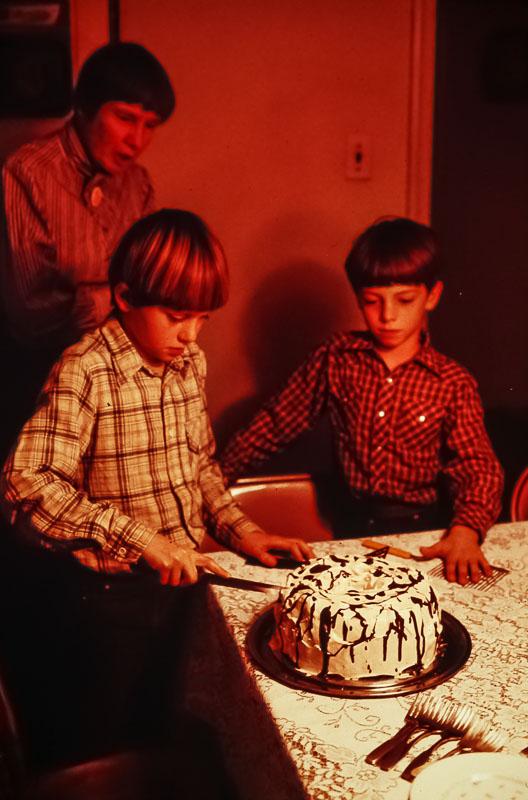 Andrew's birthday - December 1984