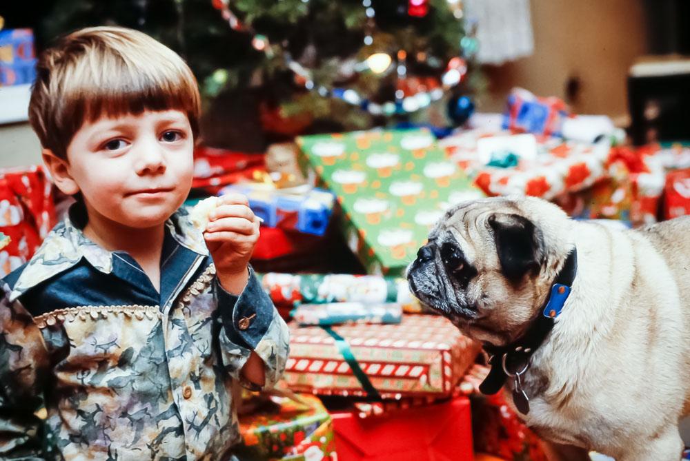 1981 Christmas at Paxon Hollow