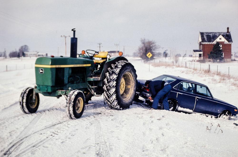 1980 Gene being rescued