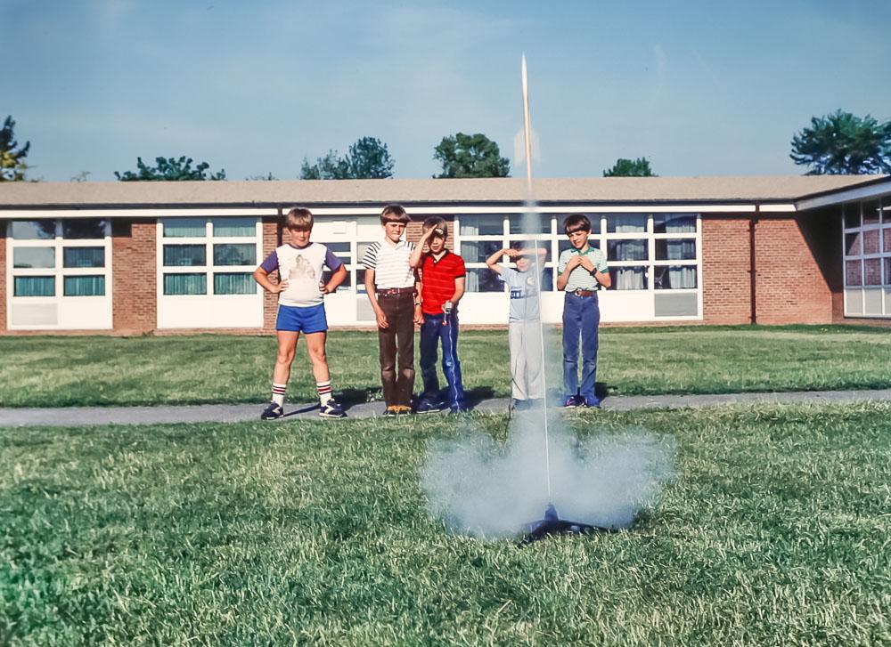 Rockets at Brookside - June 1985