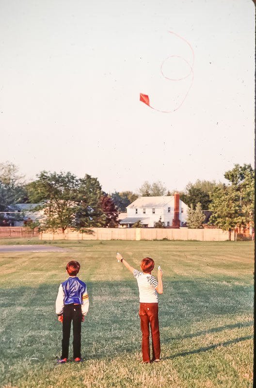 Kites at Brookside - July 1985