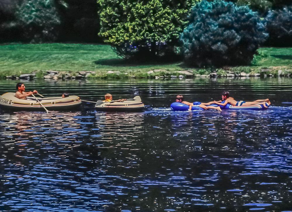 Meadowbrook pond - July 1985