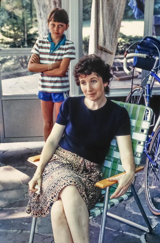 Kathleen Piper, not yet Miller - July 1985