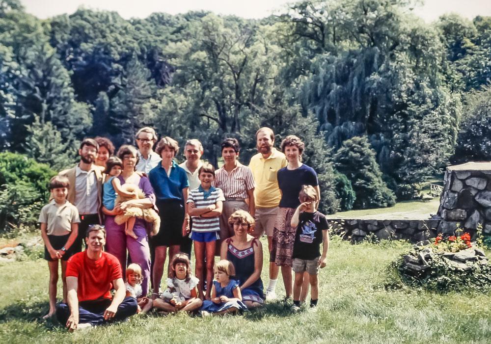 Reunion group - Class of 1964 - July 1985