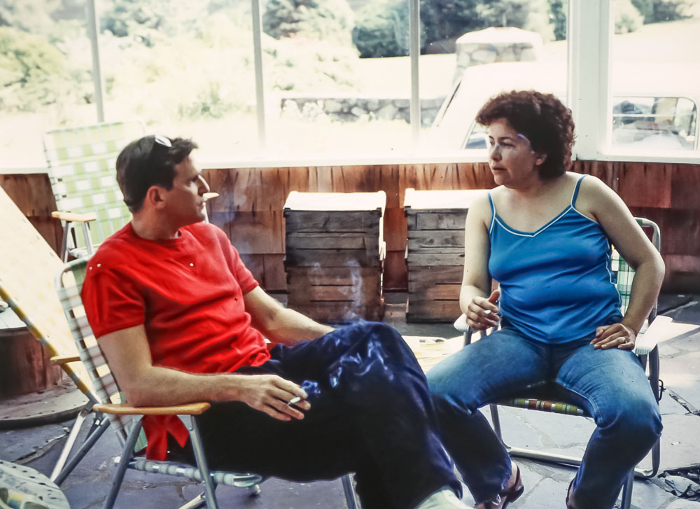 Joe and Fla - July 1985