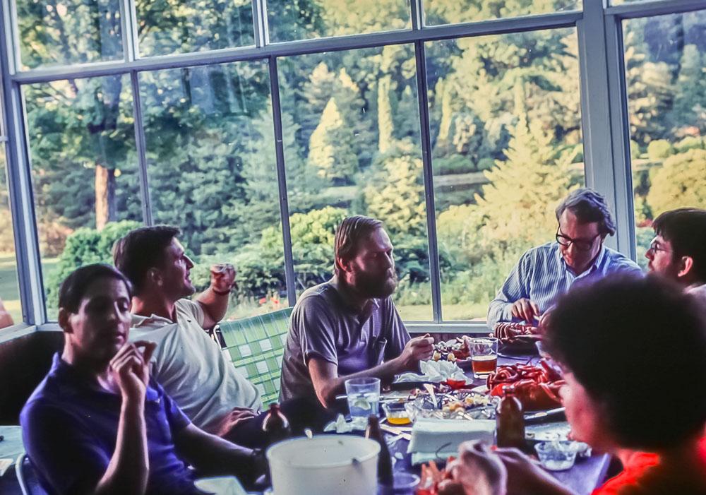 Lobster dinner - July 1985