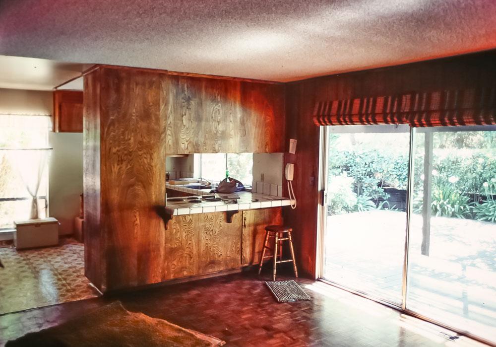 First renovation on Moraga home - July 1985