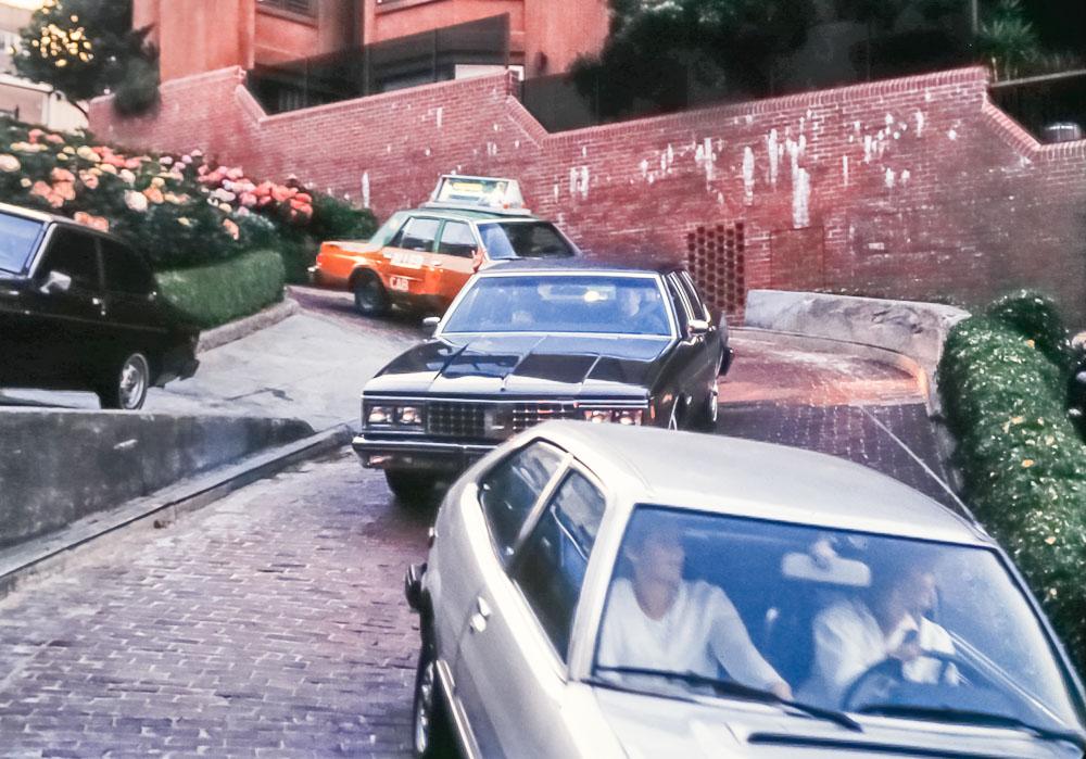 Lombard Street - July 1985