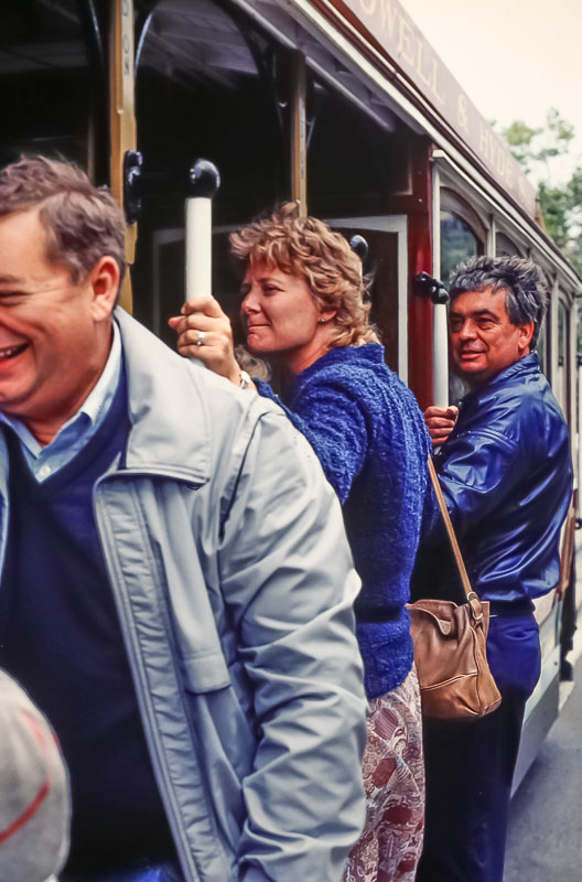 1985 cable car ride
