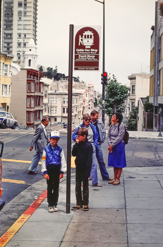 1985  Vusit with Mary and Barry in SF