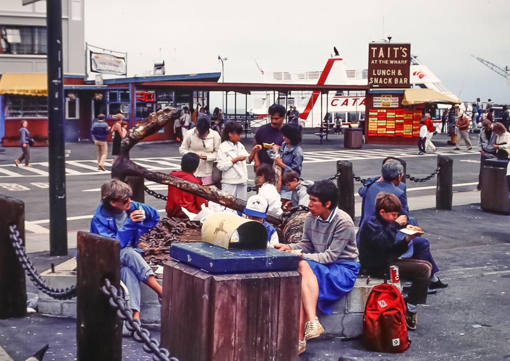 1985  Fusherman's wharf snack