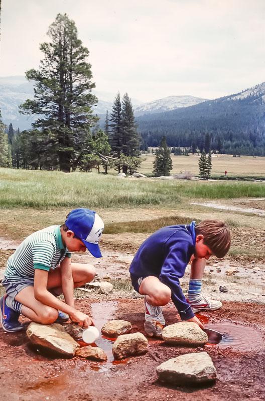 Tuolumne Meadows - July 1985