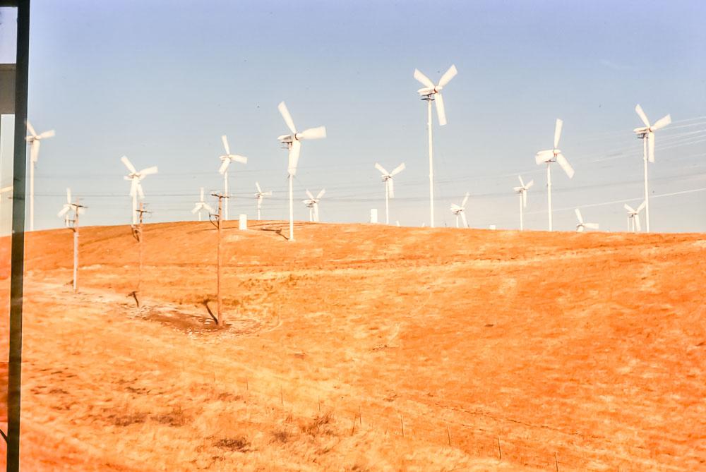 1985 Windmills outside Yosemite