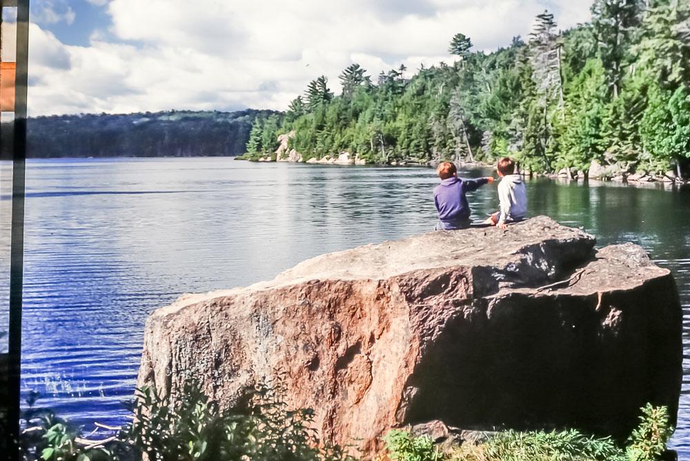1985 Adirondack backpacking
