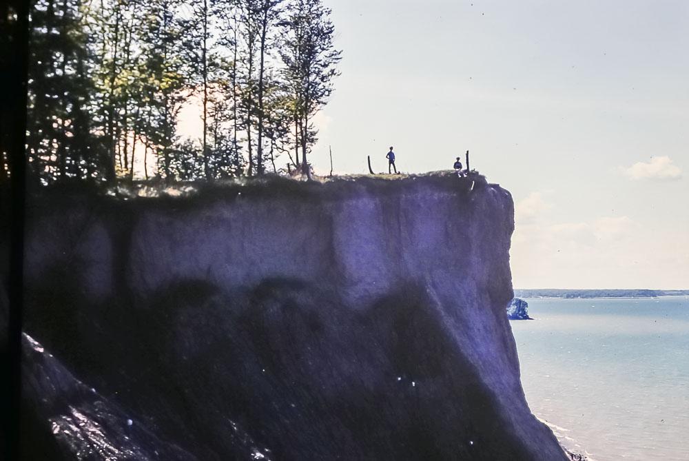 1985 Chimney Bluffs, Lake Ontario