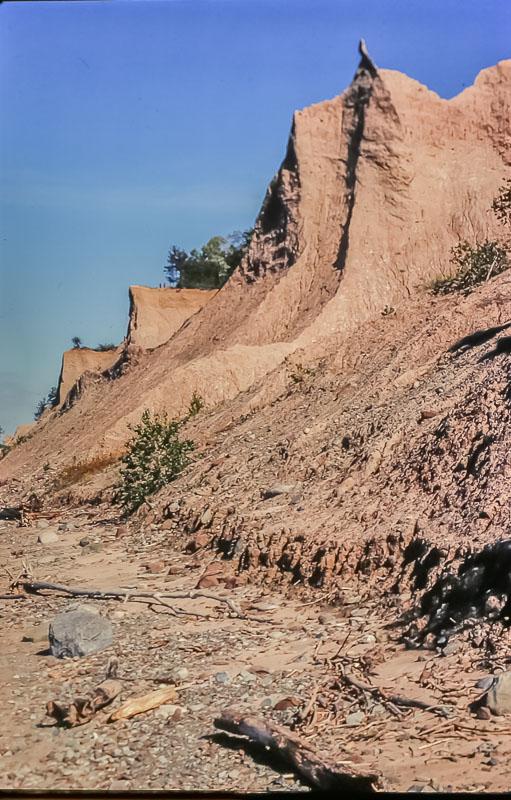 Chimney Bluffs - September 1985