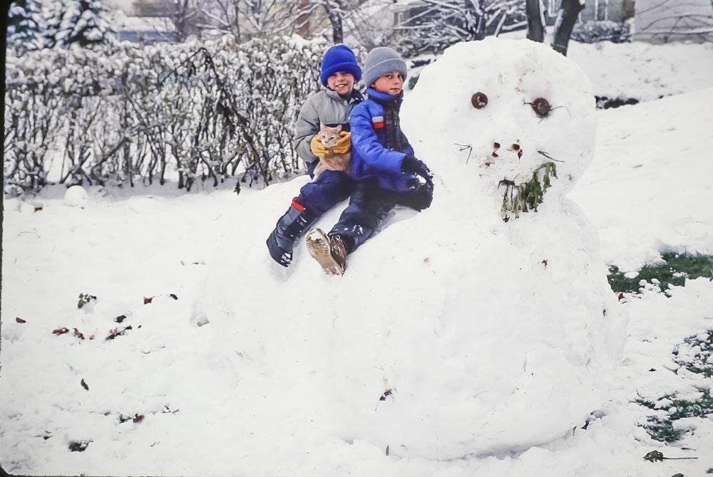 Snow cat - 1985