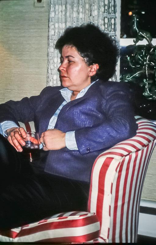Flavia Hoffnagle - Christmas 1985