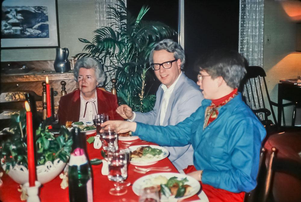 Paxon Hollow dinner - December 1985