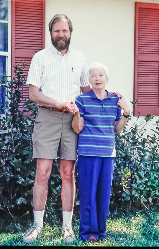 David and Eleanor - March 1986