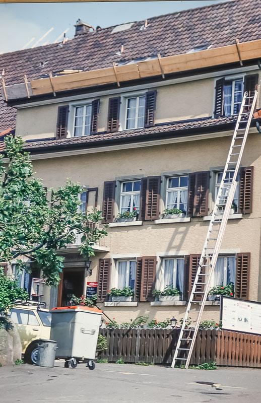 Zurich hotel, June 1986
