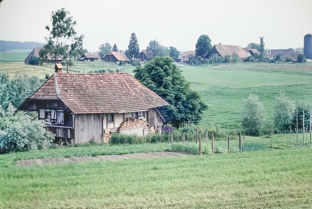 Beer'ss' weekend house, June 1986
