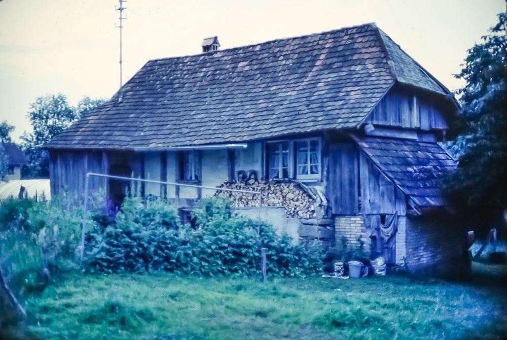 Beers' weekend home, June 1986