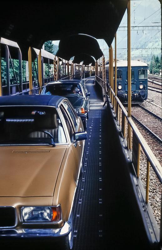 pCar train from Kaudersteg to Brig, June 1986