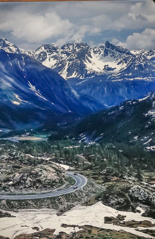 Oberalp Pass, June 1986