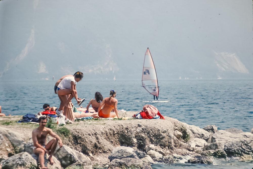 Lake de S. Giustina, Rev, Italy, June 2986