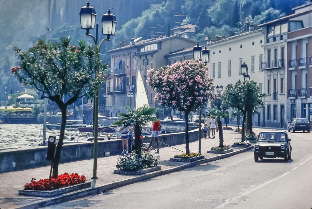 West side of Lake di Garda, June 2986