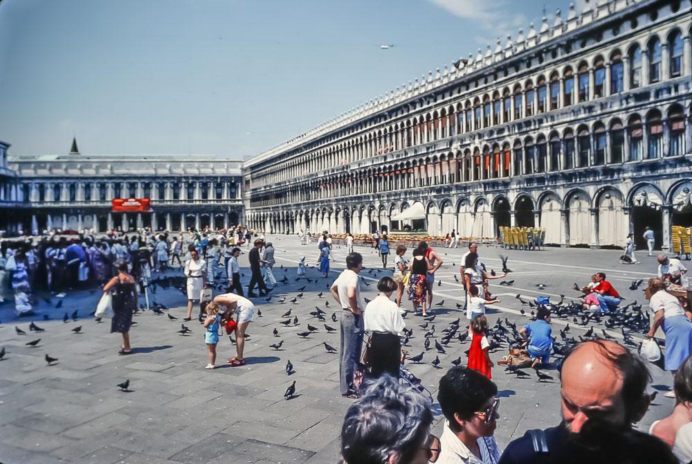 San Marco Square, Venice, June 1986