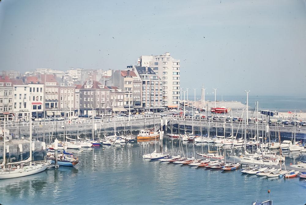 Oostenda Harbor, Belgium, June 2986