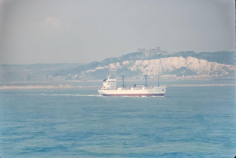 White cliffs of Dover, June 1986