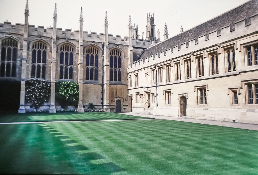 Magdalen College, Oxford, June 1986