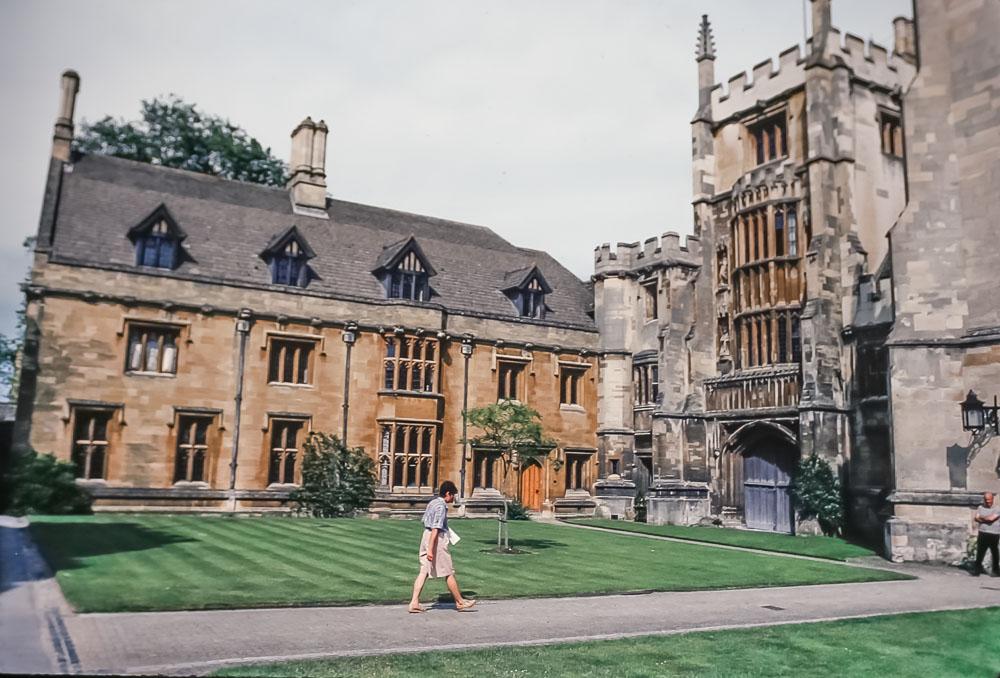 New College, Oxford, June 2986