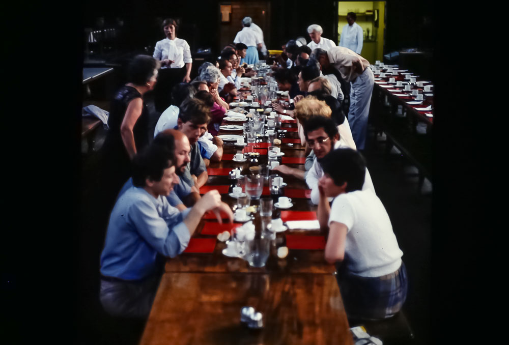 Dinner at Balioul College, June 2986