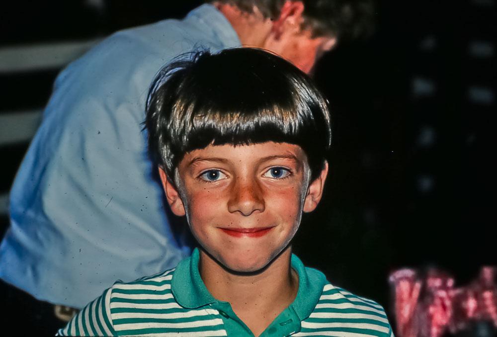 Steven, zjune 1986