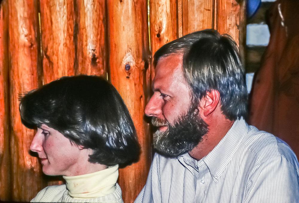 David and Liz, June 2986