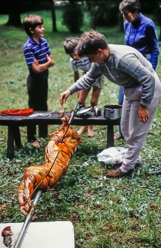 50th anniversary big roast, June 1986