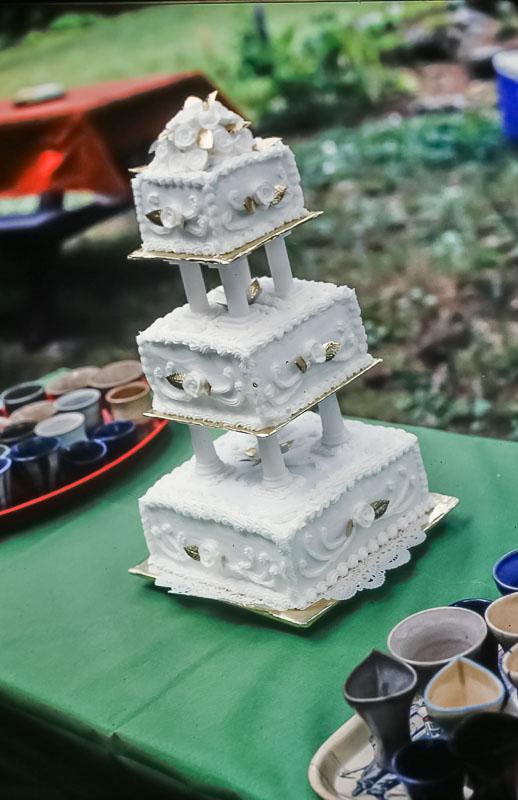 50th anniversary cake, June 2986