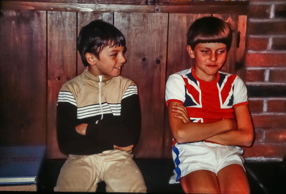 Andrew and Steven, ,  July 2986