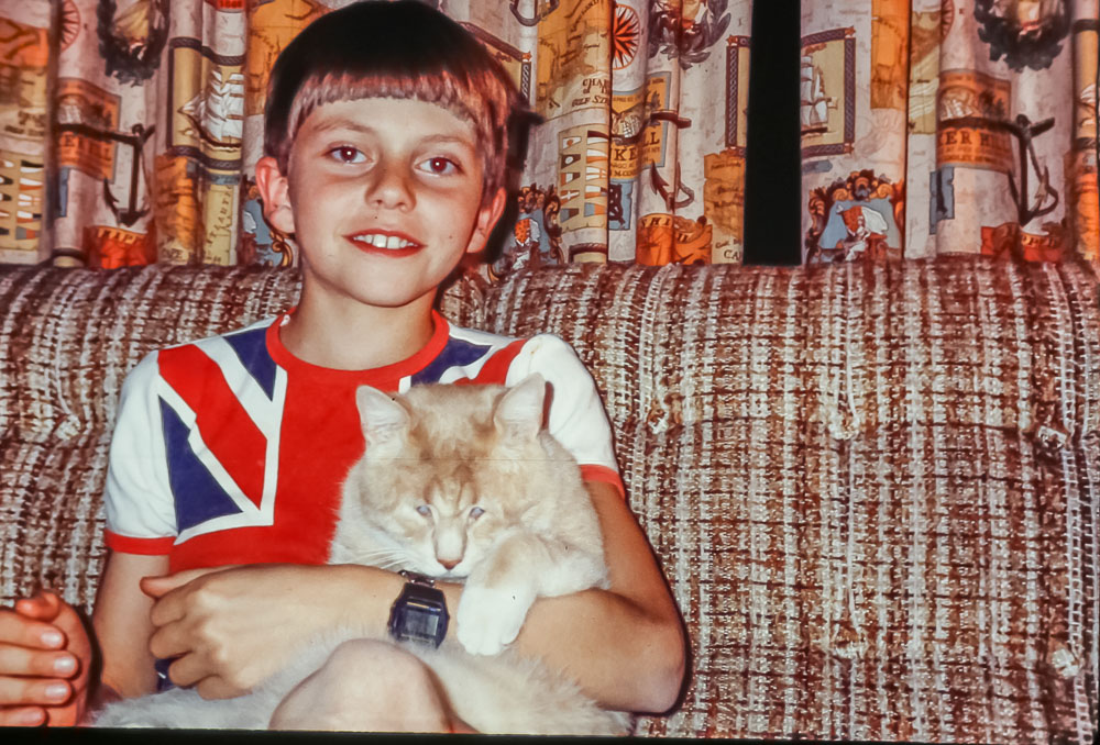 Andrew and Chester, July 2986