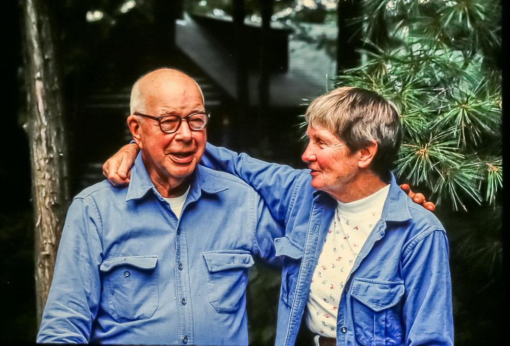 Barbara and Bill, 1986