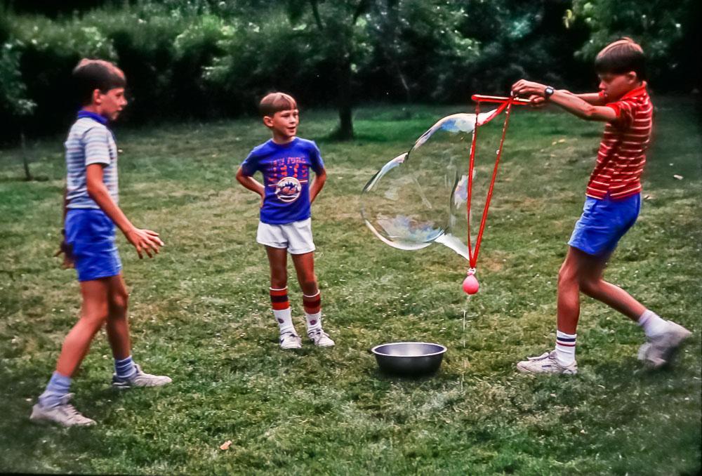 Greg, Steven, Andrew, 1987