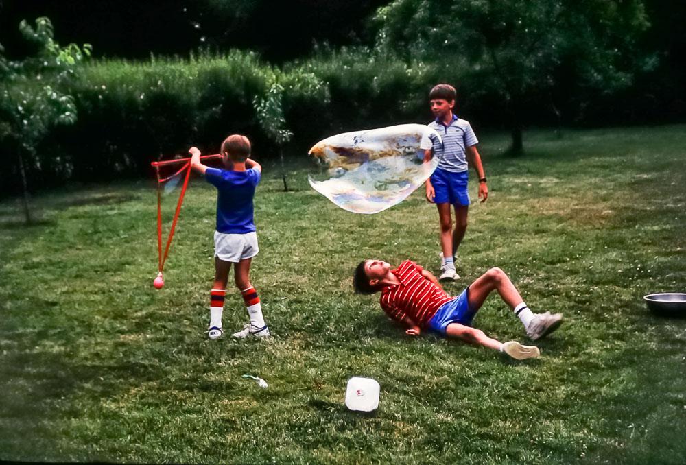 Steven, Chris, Andrew, 1987